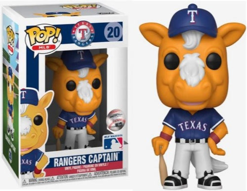 MLB - Rangers Captain Pop! Vinyl