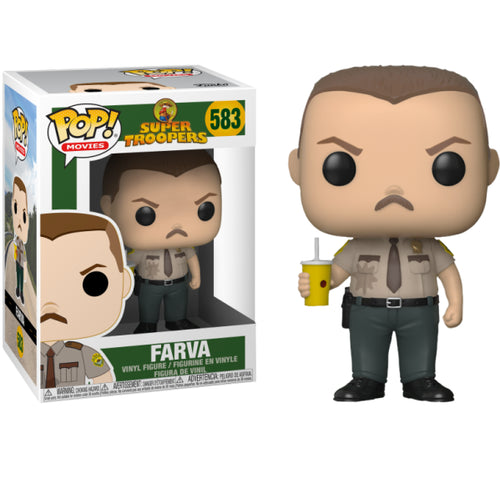 Super Troopers - Farva Pop! Vinyl