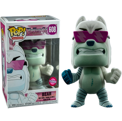 Teen Titans Go! - The Night Begins to Shine Bear Flocked US Exclusive Pop! Vinyl