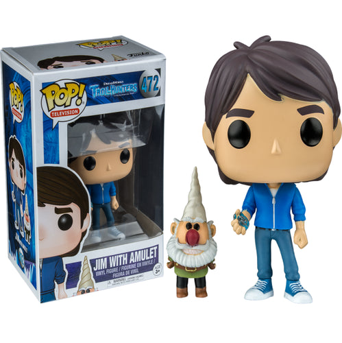 Trollhunters - Jim with Amulet US Exclusive Pop! Vinyl