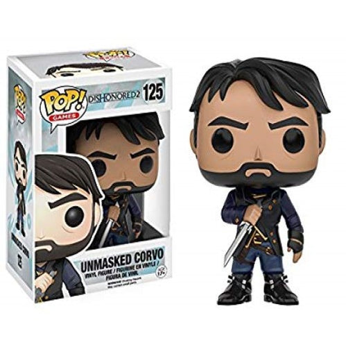 Dishonored 2 - Unmasked Corvo US Exclusive Pop! Vinyl