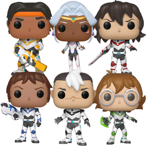 Voltron: Legendary Defender - Pop! Vinyl Bundle (Set of 6)