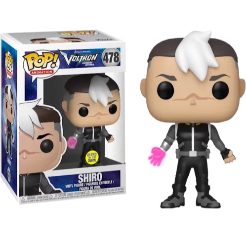Voltron - Shiro Glow Hand US Exclusive Pop! Vinyl