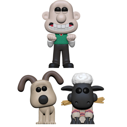 Wallace & Gromit - Bundle (Set of 3)