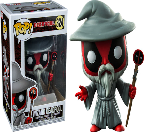 Deadpool - Wizard Deadpool US Exclusive Pop! Vinyl
