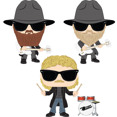 ZZ Top - Pop! Vinyl Bundle (Set of 3)
