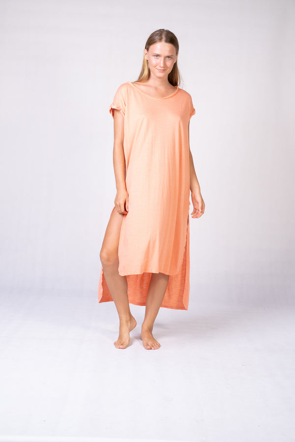 T-Shirt Dress with Slit