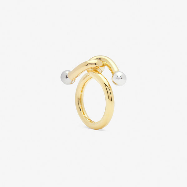 falcate ring gold