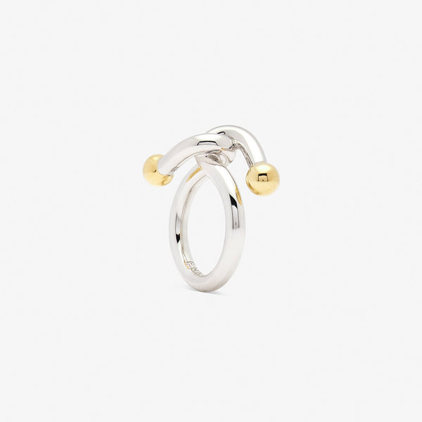 falcate ring silver - ENNUI Atelier
