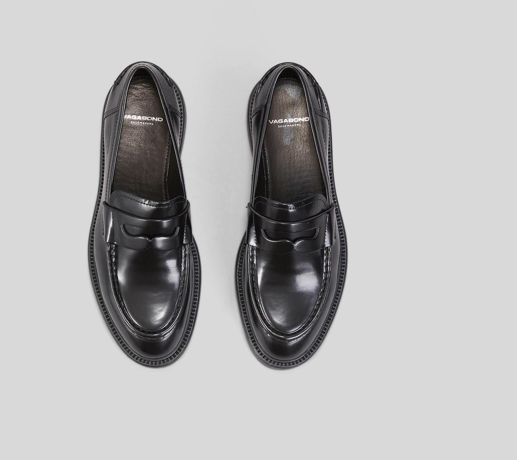 Alex Polished Black Loafer