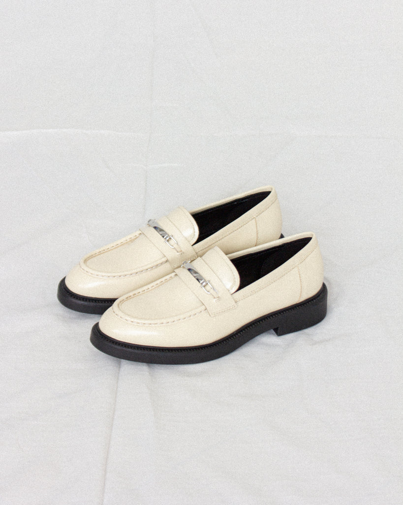 Alex Off White Polished Loafer