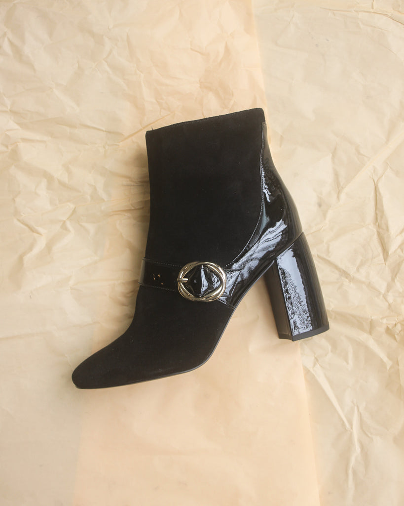 What For - Black Bootie