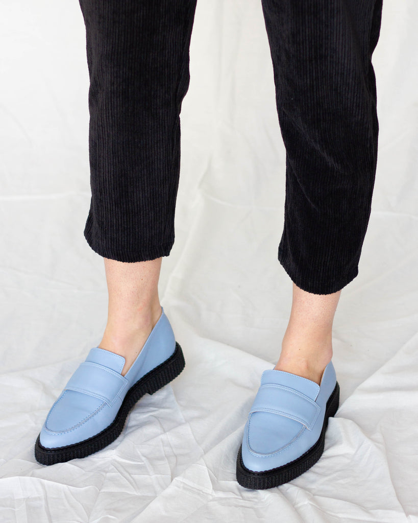 Collished Loafer Baby Blue