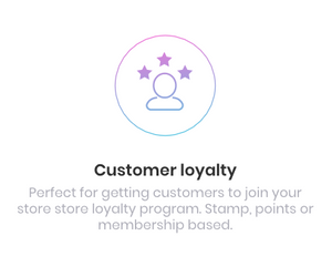 Customer Loyalty Points Card