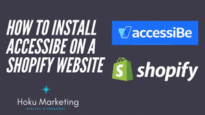How To Install Accessibe On Your Shopify Website