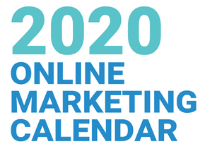 2020 Marketing Calendar - FREE!