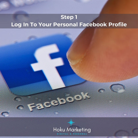 Login to your facebook profile to add a method of payment
