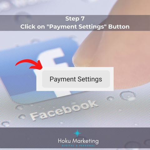 Step 7 click on payment setting button