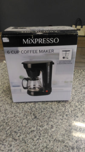 6 Cup coffee maker - Mixpresso