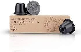 Nespresso reusable pods 3 pack