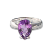 Amethyst Ring in Sterl.Silver 2.83ct