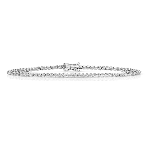 0.50ct Diamond Bracelet in 9K White Gold