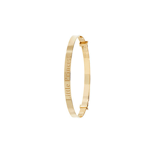 9K Yellow Gold Babies Exp 3mm Bangle