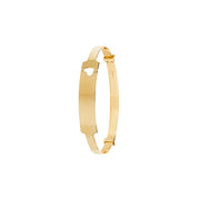 Babies' ID Bangle in 9K Gold
