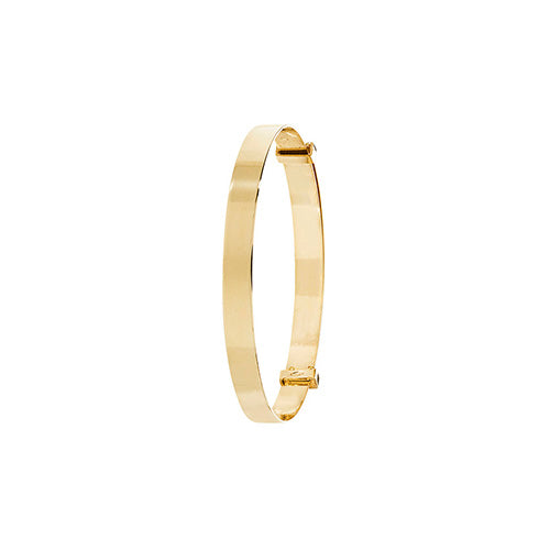 Babies' Bangle in 9K Gold