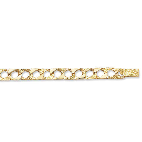 9K Yellow Gold Babies' 5.5 Inches Cast Bracelet