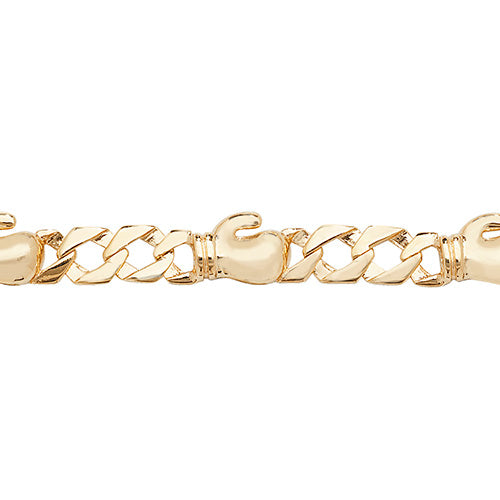 9K Yellow Gold Babies' 6 Inches Bracelet