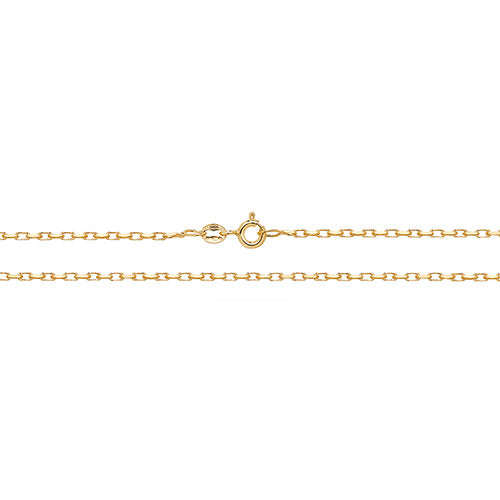 9K Yellow Gold Dc Belcher Chain