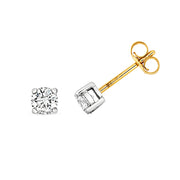 0.60ct Diamond Earring in 9K Gold