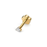0.03ct Diamond Earring in 9K Gold