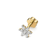0.10ct Diamond Earring in 9K Gold