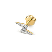 0.04ct Diamond Earring in 9K Gold
