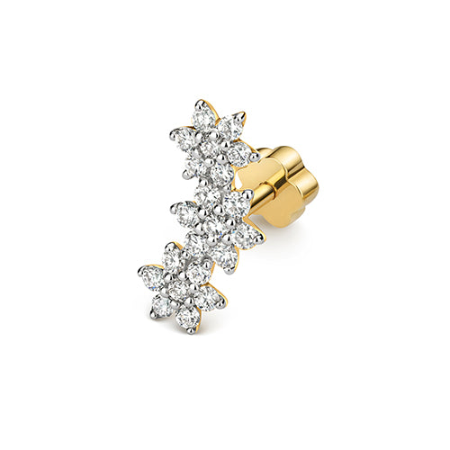 0.23ct Diamond Earring in 9K Gold