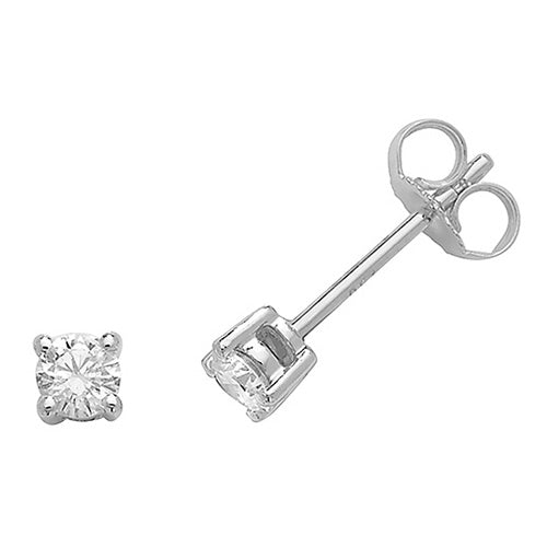 0.33ct Diamond Earring in 18K Gold