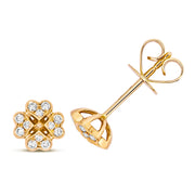 Diamond Earring in 18K Gold
