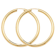 9K Yellow Gold 35mm Sleepers
