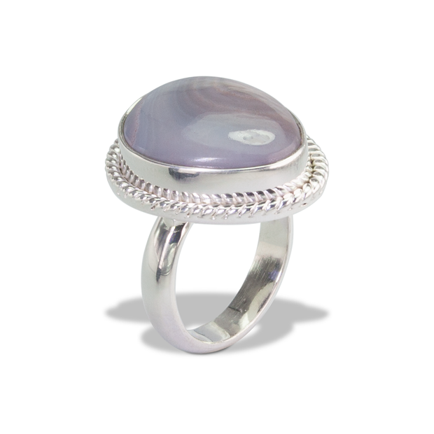 Agate Ring in Sterl.Silver 11.5ct