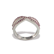 Garnet Ring in Sterl.Silver 0.56ct