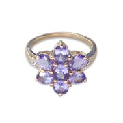 Tanzanite Ring in 9K Gold 2.54ct