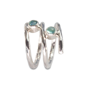Apatite Ring in Sterl.Silver 0.43ct