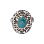 Turquoise Ring in Sterl.Silver 2.97ct