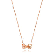 Diamond Necklace in 18K Rose Gold