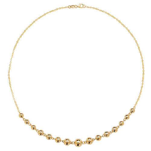 9K Yellow Gold Ladies' 16 Inch Necklace