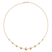 9K Yellow Gold Ladies' 16.5 Inch Necklace