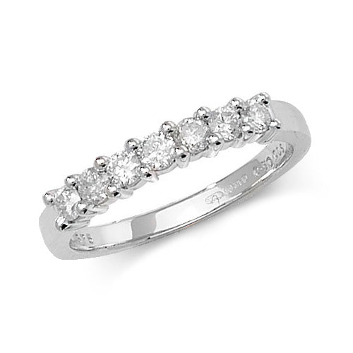 0.50ct Diamond Ring in 9K White Gold