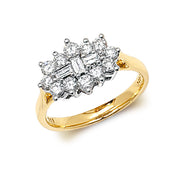 1.00ct Diamond Ring in 9K Gold
